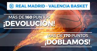 Paston Euroliga Real Madrid vs Valencia 5 diciembre 2019