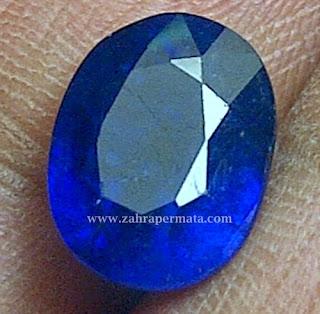 Batu Permata Royal Blue Saphire - ZP 281