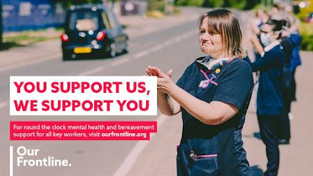 Samaritans have frontline worker support