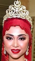 diamond crescent star tiara queen saleha brunei noraquilah