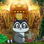 Games4King Cute Raccoon E…