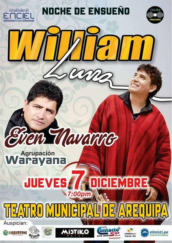 William Luna en Arequipa - 07 diciembre