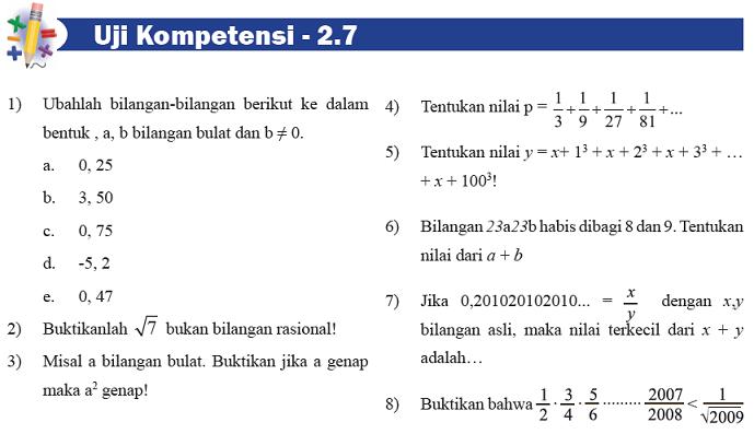 PR Matematika Anakku yang Duduk di Kelas 1 SMP, Kurikulum 2013 Gak salah niih?