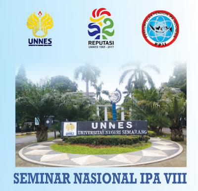 Ikuti Seminar Nasional IPA VIII UNNES, Inilah Panduannya!