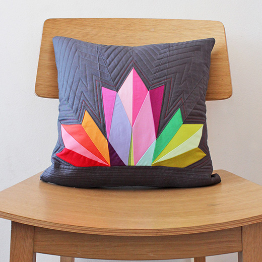 Canada Paper Pieced Pillow Free Pattern