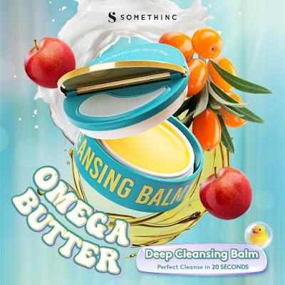 Cara penggunaan Somethinc Omega Butter Deep Cleansing Balm
