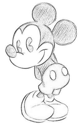 10+ Easy Mickey Mouse drawing images | mickey mouse sketch