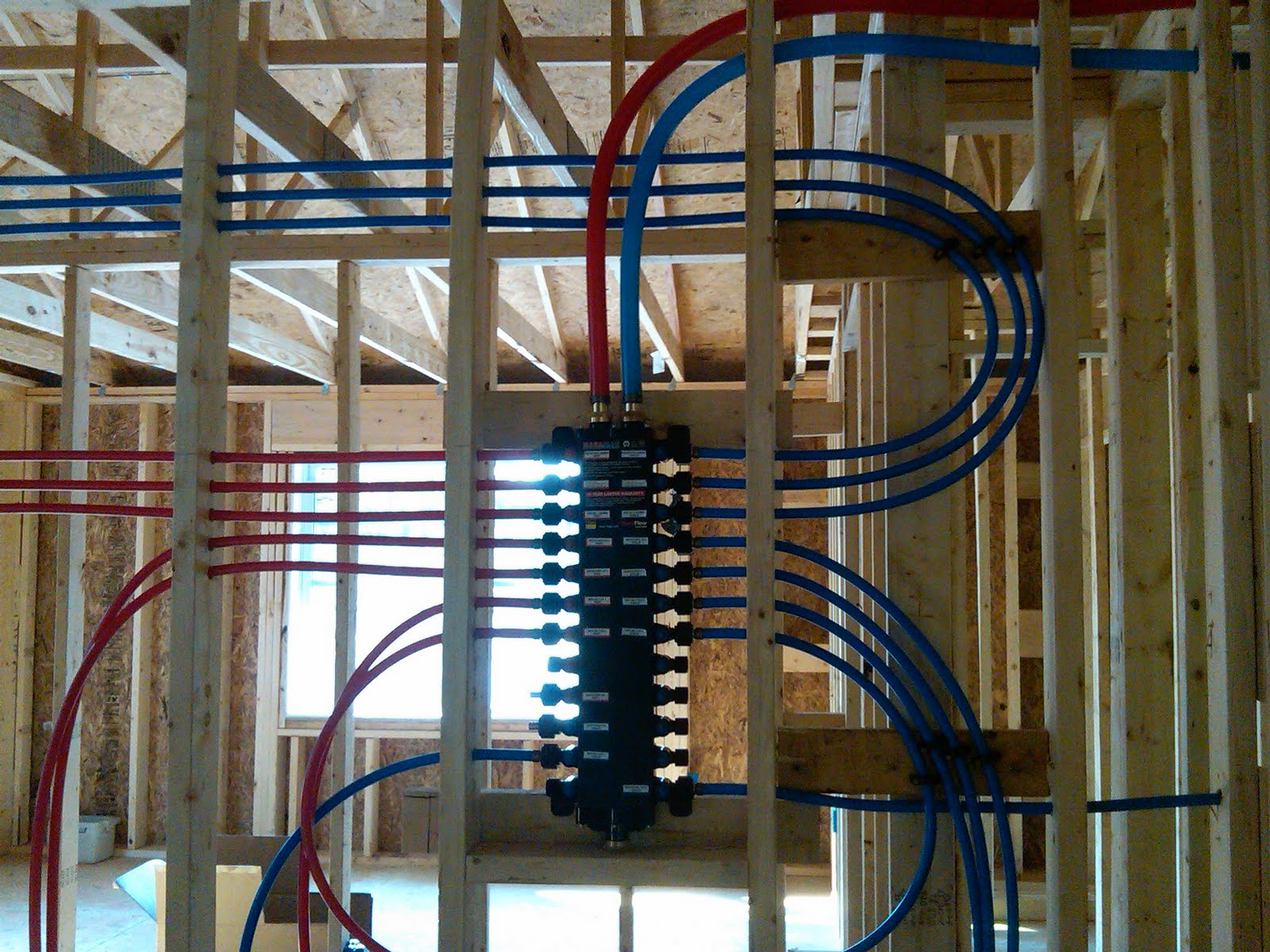 Bathroom Rough Wiring Diagram Site From House To Garage Electrical Diy Chatroom Home Not Quite A Teardown Plumbing Progress Pex In Conduit Walls Wood
