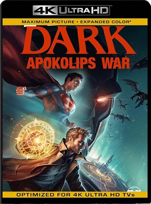 Justice League Dark: Apokolips War (2020) 4K 2160p UHD [HDR] Latino [GoogleDrive]