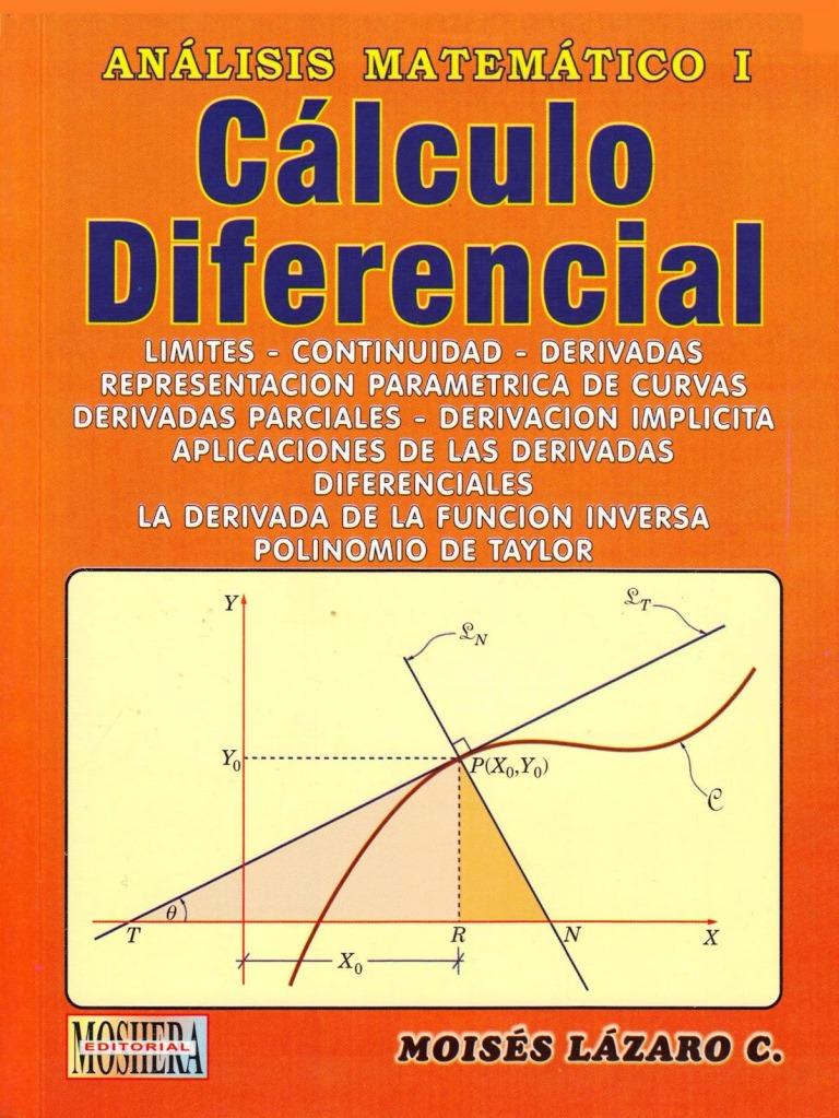 Análisis matemático I: Cálculo diferencial – Moisés Lázaro Carrión