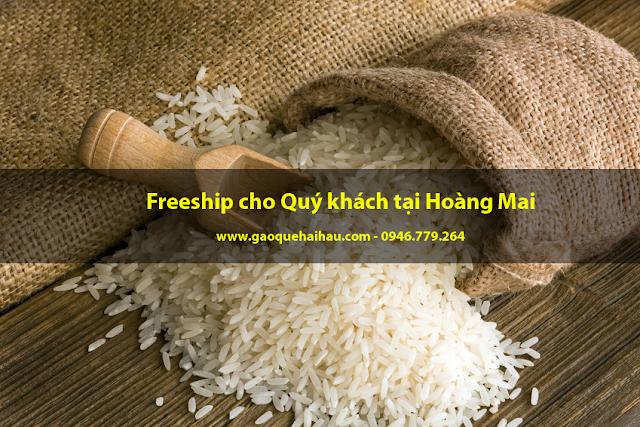 Mua gạo quê Hải Hậu nguyên chất tại Hoàng Mai, Hà Nội