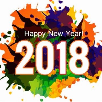 Happy New Year 2018 Wallpaper: Download New Year HD Wallpaper 2018
