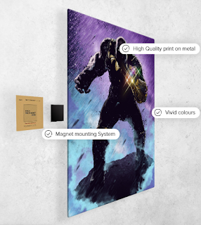 Thanos Displate
