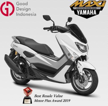 Harga dan Spesifikasi Yamaha  All New NMAX 155 ABS Version