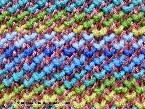 Pearl Brioche Knitting