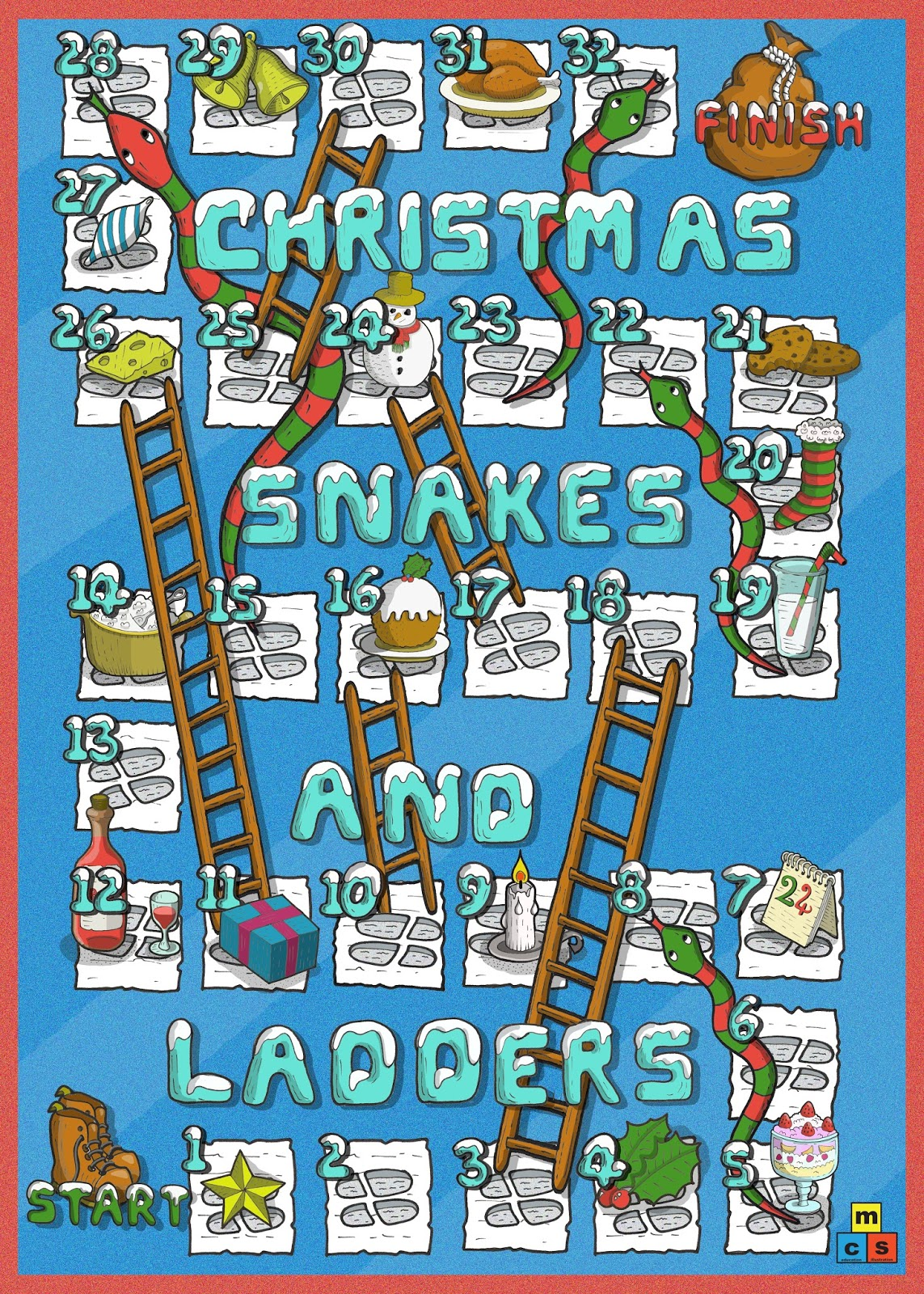 Black And White Simple Version Of Christmas Worksheet Education