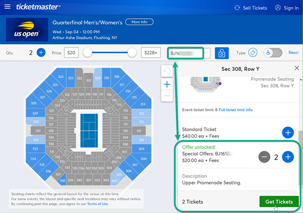 Ticketmaster Discount Code Where To Enter
