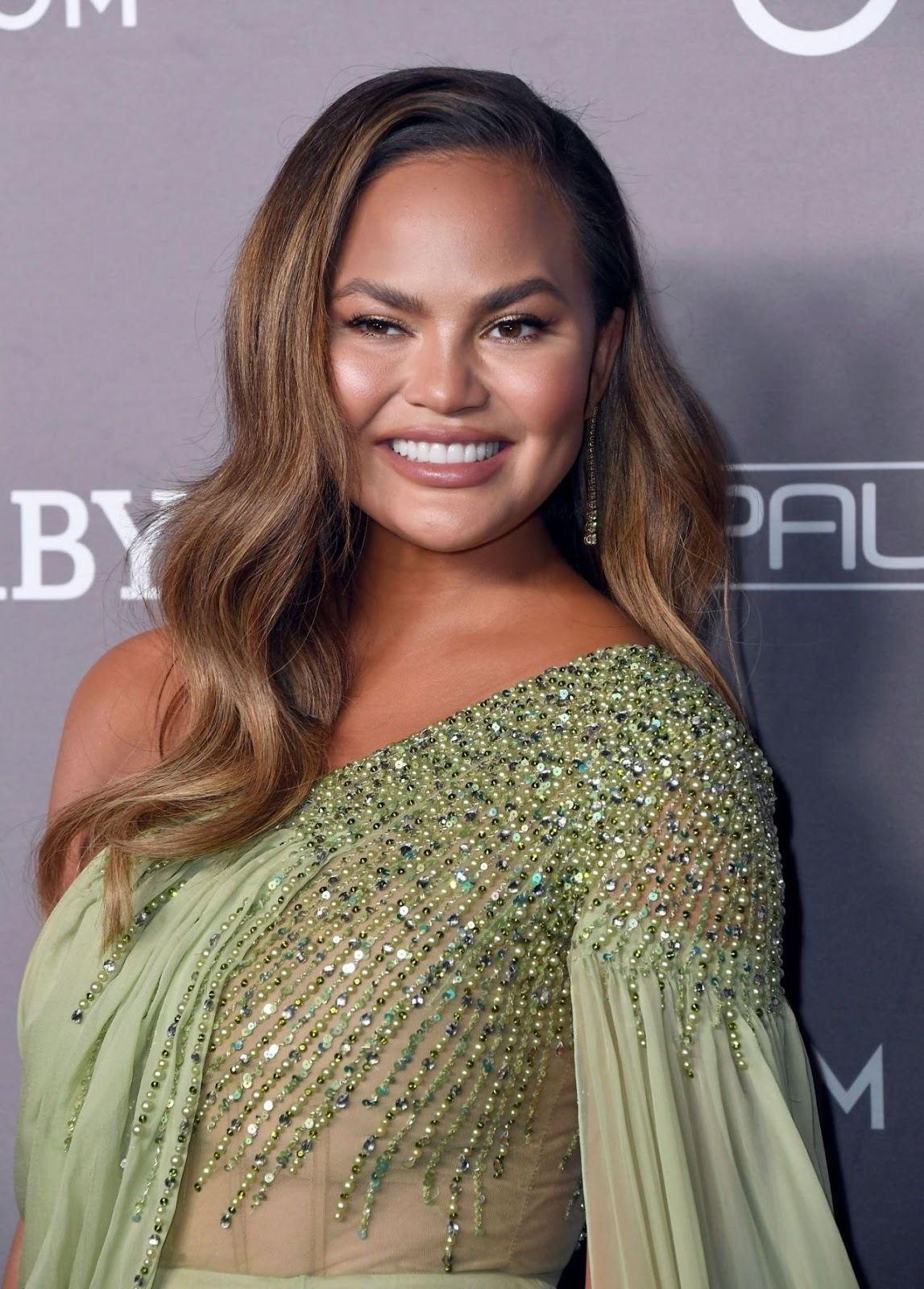 Chrissy Teigen – 2019 Baby2Baby Gala presented by Paul Mitchell at 3LABS in Culver City