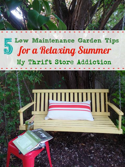 low maintenance garden tips for a relaxing summer