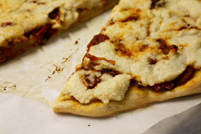 vegan cheese pizza recipe