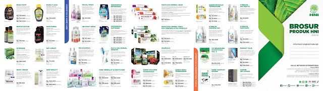 Brosur da Katalog Terbaru Herbal HNI HPAI  2021 Marketing Tool Agen HNI HPAI