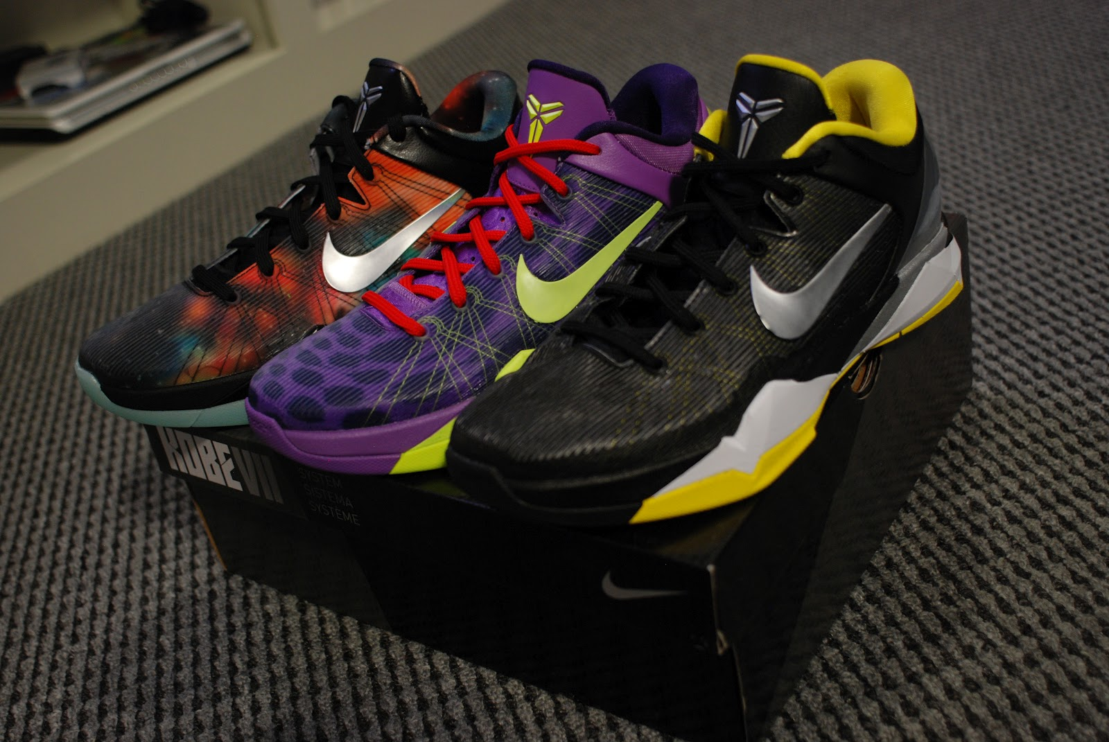 buy online 5920b 7f57f J2  Nike Kobe VII (7) System Review