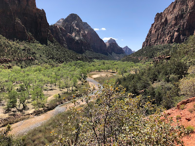 Zion National Park - North Folk Virgin River.