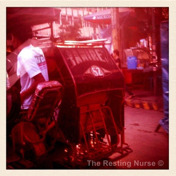 The Resting Nurse