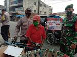 Polsek Indrapura Bersama TNI Gelar Ops Yustisi kepatuhan Prokes