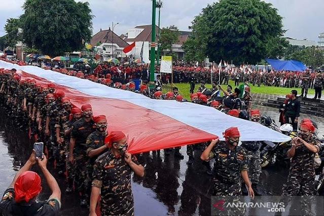 Kapolda Dicopot gegara Acara Habib Rizieq, PA 212 Pertanyakan Parade Banser di Banyumas