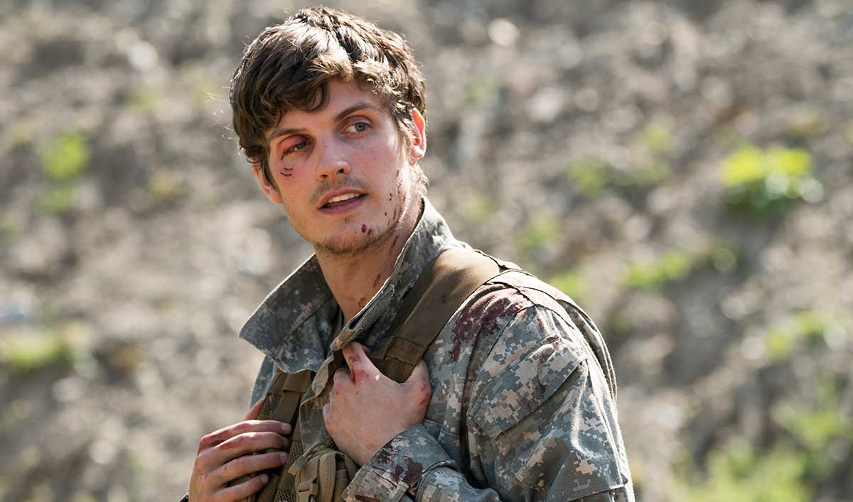 Troy Otto en la tercera temporada de Fear The Walking Dead