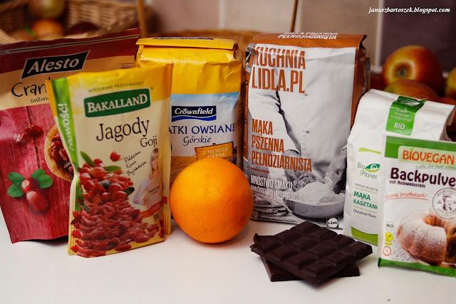 Czekoladowe serduszka w zdrowszej wersji (bez białego cukru)