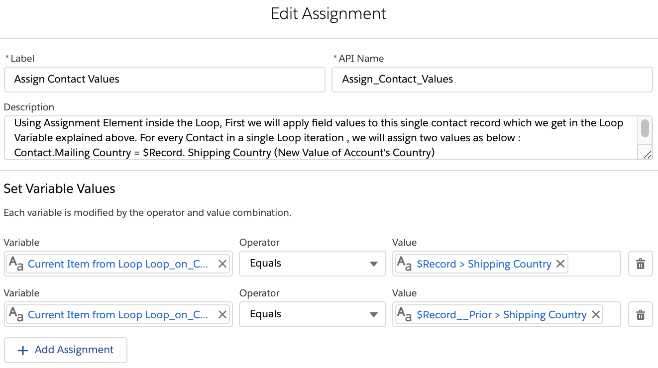 Update Records from Flow Loops in Salesforce