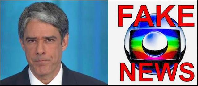 Rede Globo divulga Fake News