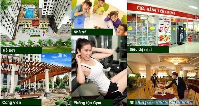 Tiện ích chung cư Việt Đức Complex