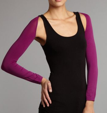 Sleeves to cover upper arms