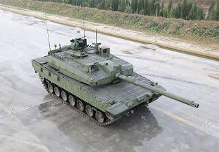 MBT Altay Buatan Turki