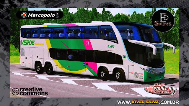 PARADISO G7 1800 DD 8X2 - VIAÇÃO VERDE TRANSPORTES