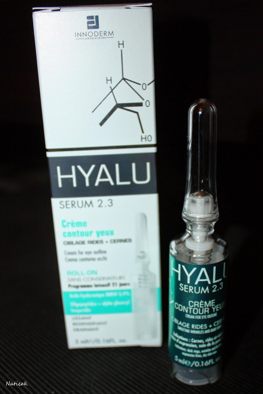 Hyalu sérum 2.3 crème contour des yeux d'Innoderm