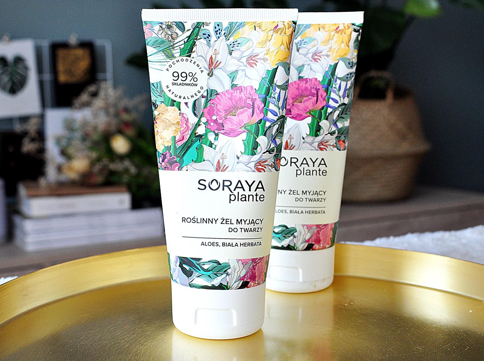 SORAYA Plante - żel do twarzy z dobrym składem, dostępny w drogeriach Rossmann