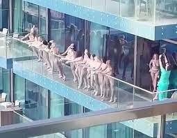 Dubai Naked Photo Shoot in Viral Balcony Video