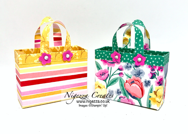 Nigezza Creates with Stampin' Up! and Flowers For Every Season Cute Quick & Easy Gift Bag