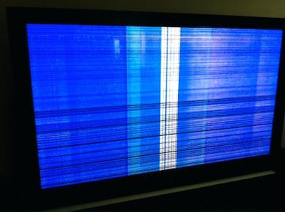 Cara memperbaiki tv bergaris horizontal