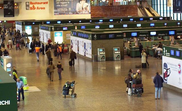 Deslocamento do aeroporto Malpensa até o centro turístico de Milão