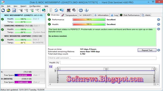 Hard Disk Sentinel Download Latest Version For PC