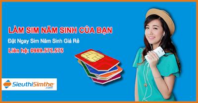 Sim năm sinh Vietnamobile