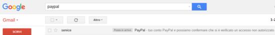 Conto Paypal violato