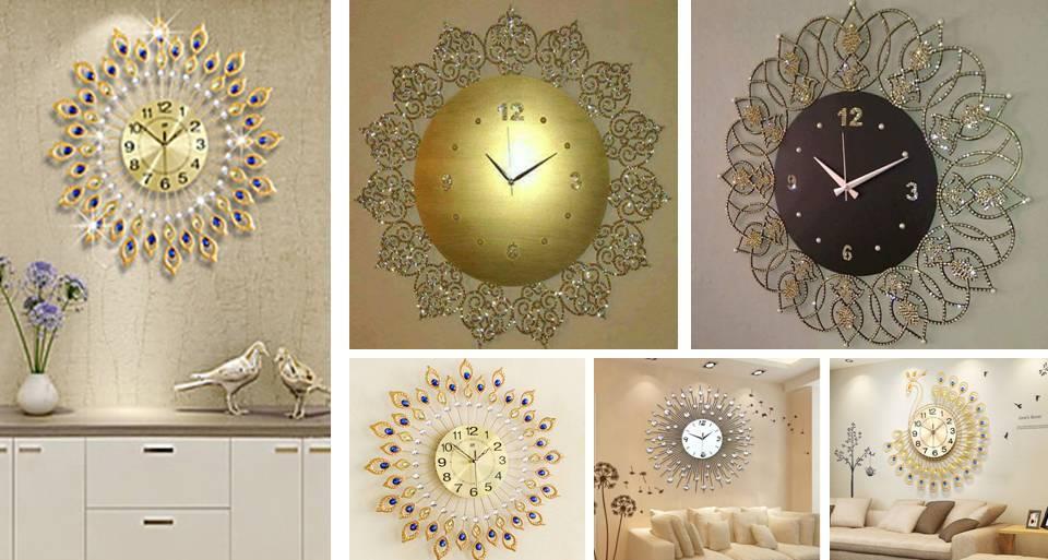 Home Wall Clock Ideas: Handmade Wall Clock Design Ideas