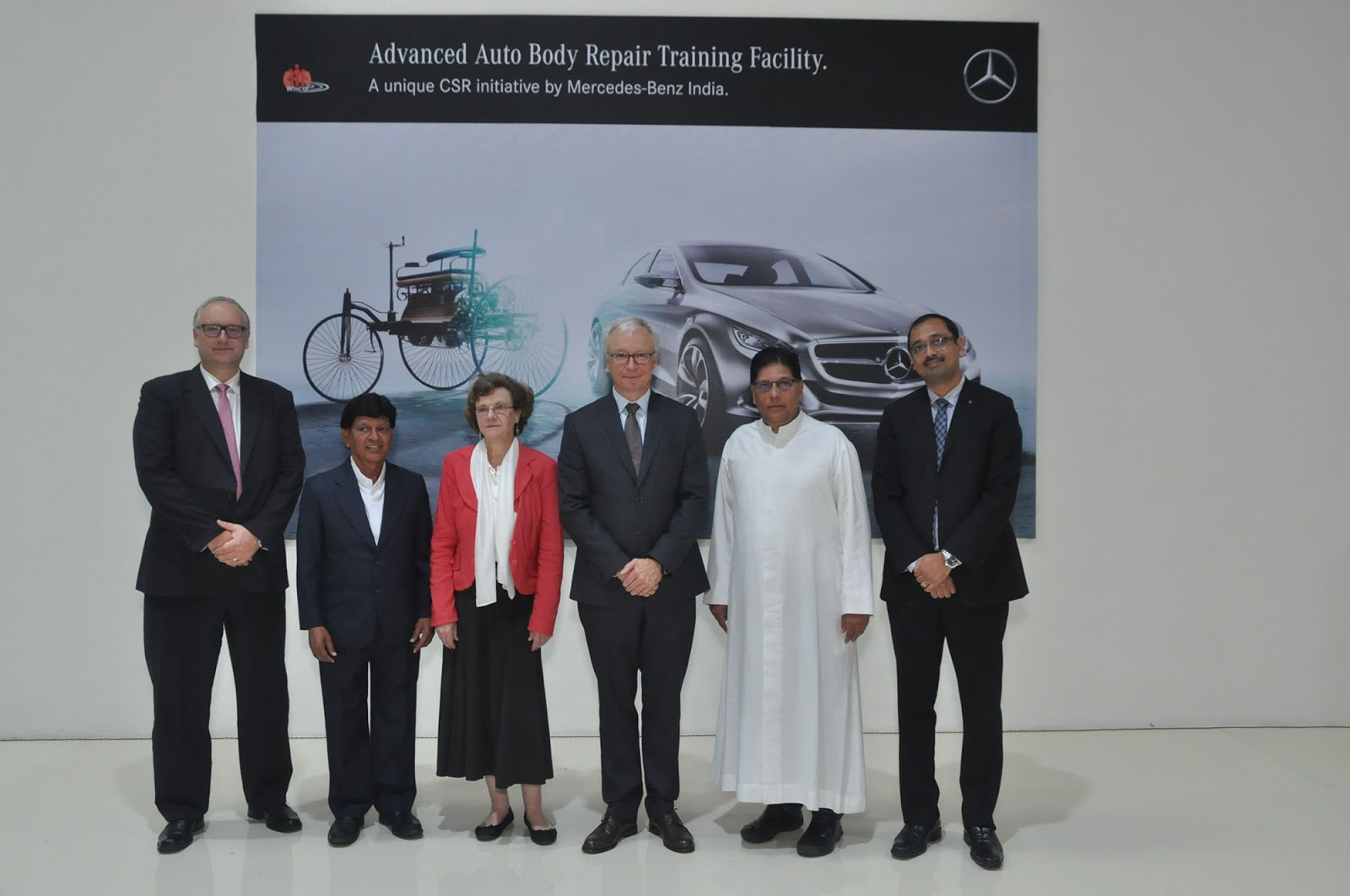 SouLSteercom MercedesBenz India Opens Advanced Auto Body - Mercedes benz body repair centre