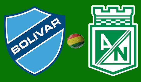 En vivo Bolívar vs. Atlético Nacional - Copa Libertadores